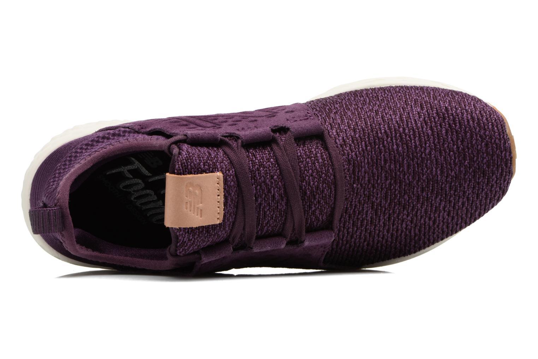 Chaussures de sport New Balance WCRUZ Violet vue gauche