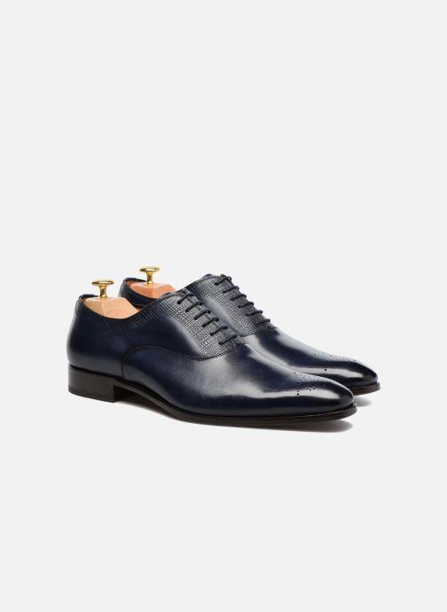 Zapatos con cordones Marvin&Co Luxe Perfan - Cousu Blake Azul vista 3/4