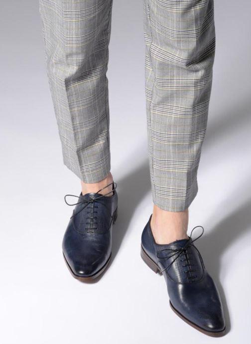 Zapatos con cordones Marvin&Co Luxe Perfan - Cousu Blake Azul vista de abajo
