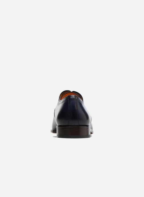 Schnürschuhe Marvin&Co Luxe Perfan - Cousu Blake blau ansicht von rechts