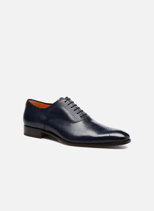 Snøresko Marvin&Co Luxe Perfan - Cousu Blake Blå detaljeret billede af skoene