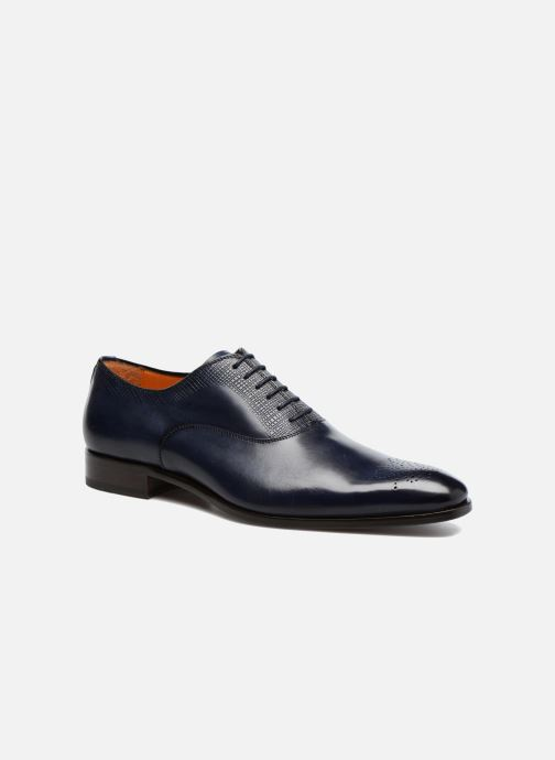 Lace-up shoes Marvin&Co Luxe Perfan - Cousu Blake Blue detailed view/ Pair view