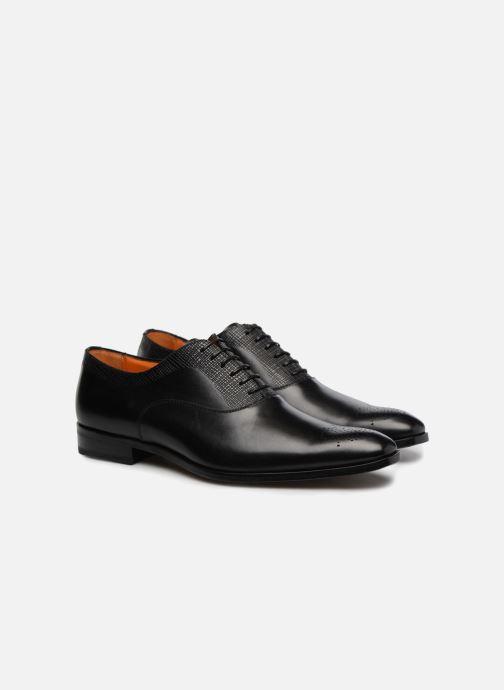 Chaussures à lacets Marvin&Co Luxe Perfan - Cousu Blake Noir vue 3/4