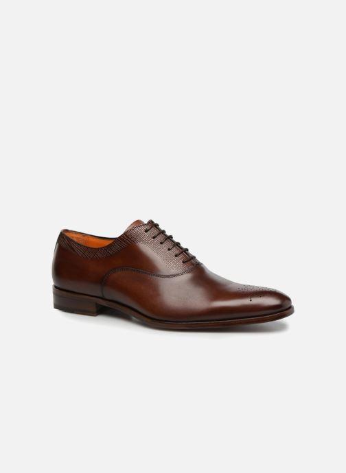Zapatos con cordones Marvin&Co Luxe Perfan - Cousu Blake Marrón vista de detalle / par