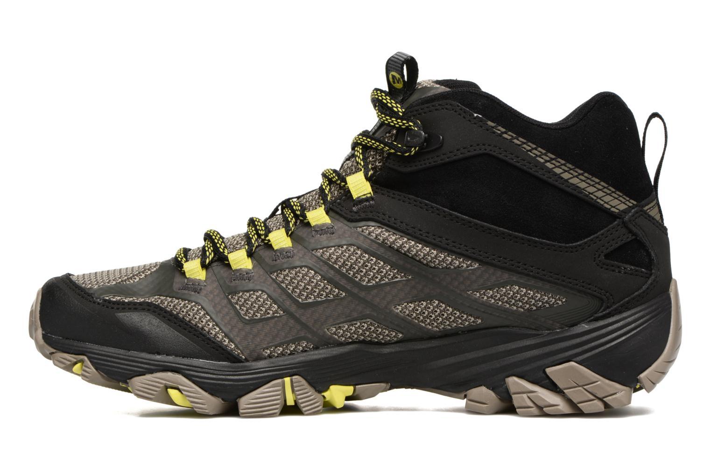 Chaussures de sport Merrell Moab FST Mid Gtx Noir vue face