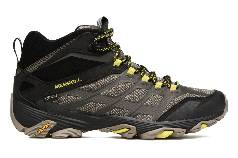Chaussures de sport Merrell Moab FST Mid Gtx Noir vue derrière