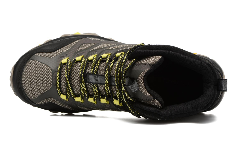 Chaussures de sport Merrell Moab FST Mid Gtx Noir vue gauche