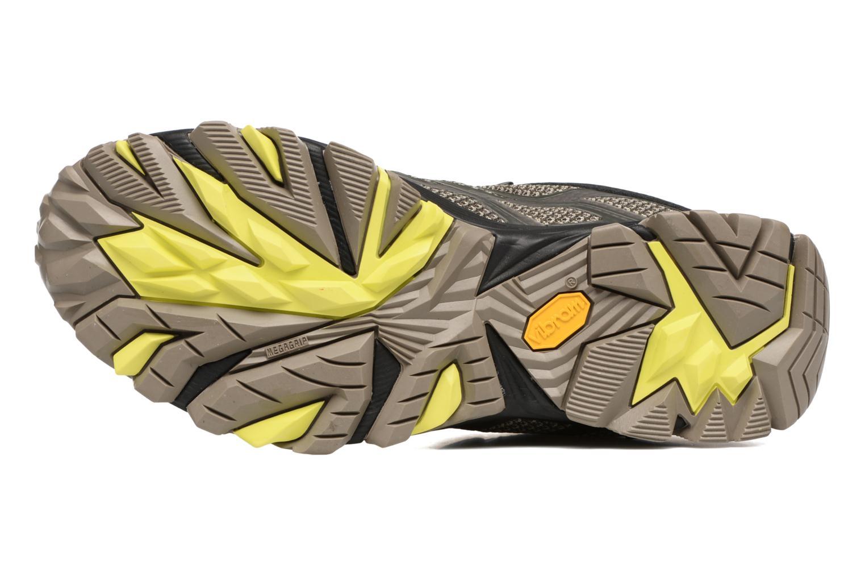 Chaussures de sport Merrell Moab FST Mid Gtx Noir vue haut