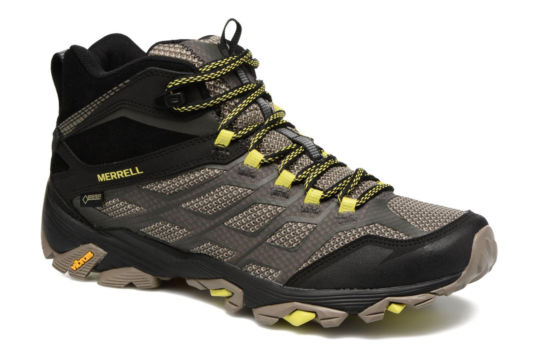 Chaussures de sport Merrell Moab FST Mid Gtx Noir vue détail/paire