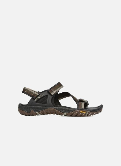 Sport shoes Merrell All Out Blaze Web Multicolor back view