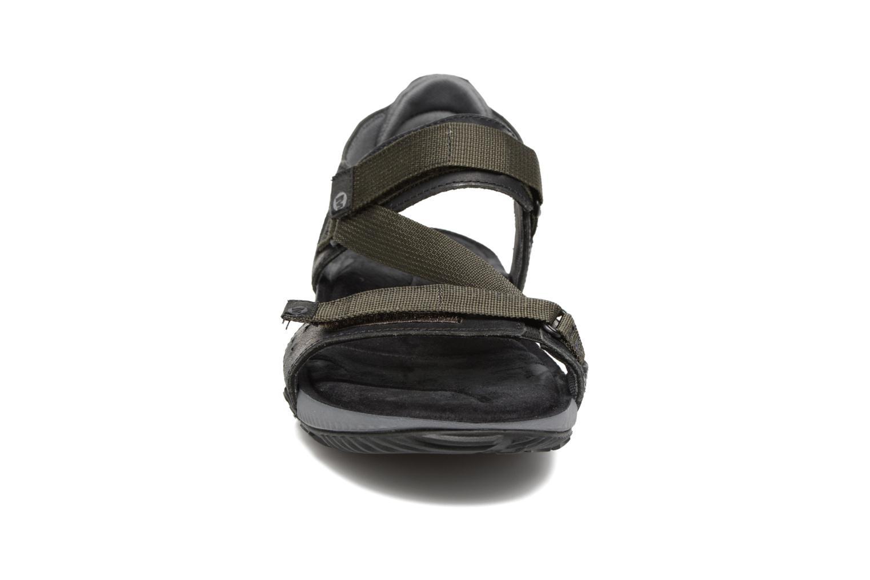 Chaussures de sport Merrell Terrant Strap Noir vue portées chaussures