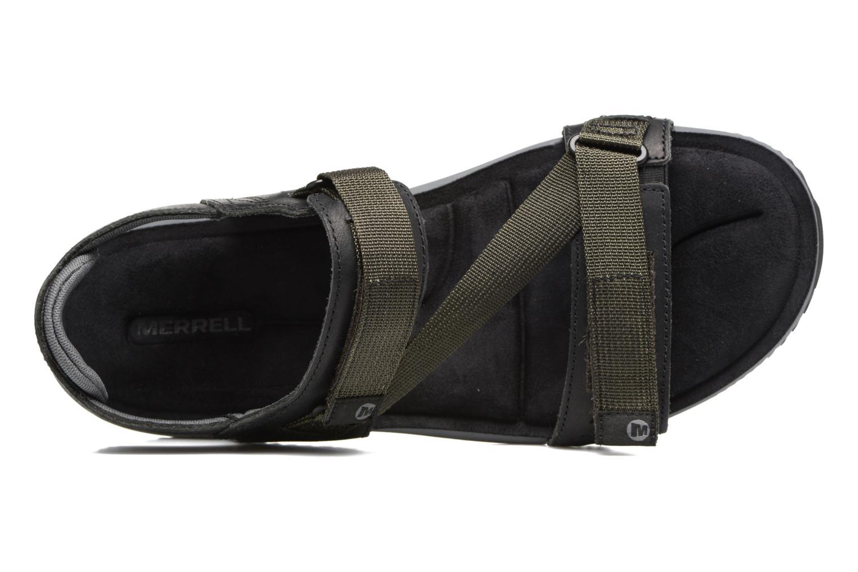Chaussures de sport Merrell Terrant Strap Noir vue gauche