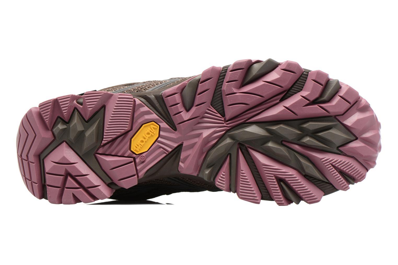 Chaussures de sport Merrell Moab FST Mid Gtx W Marron vue haut