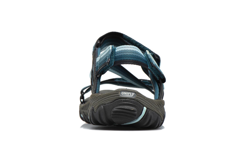 Chaussures de sport Merrell All Out Blaze Web W Bleu vue droite