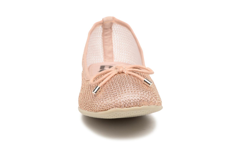 Ballerines Refresh Jala Rose vue portées chaussures