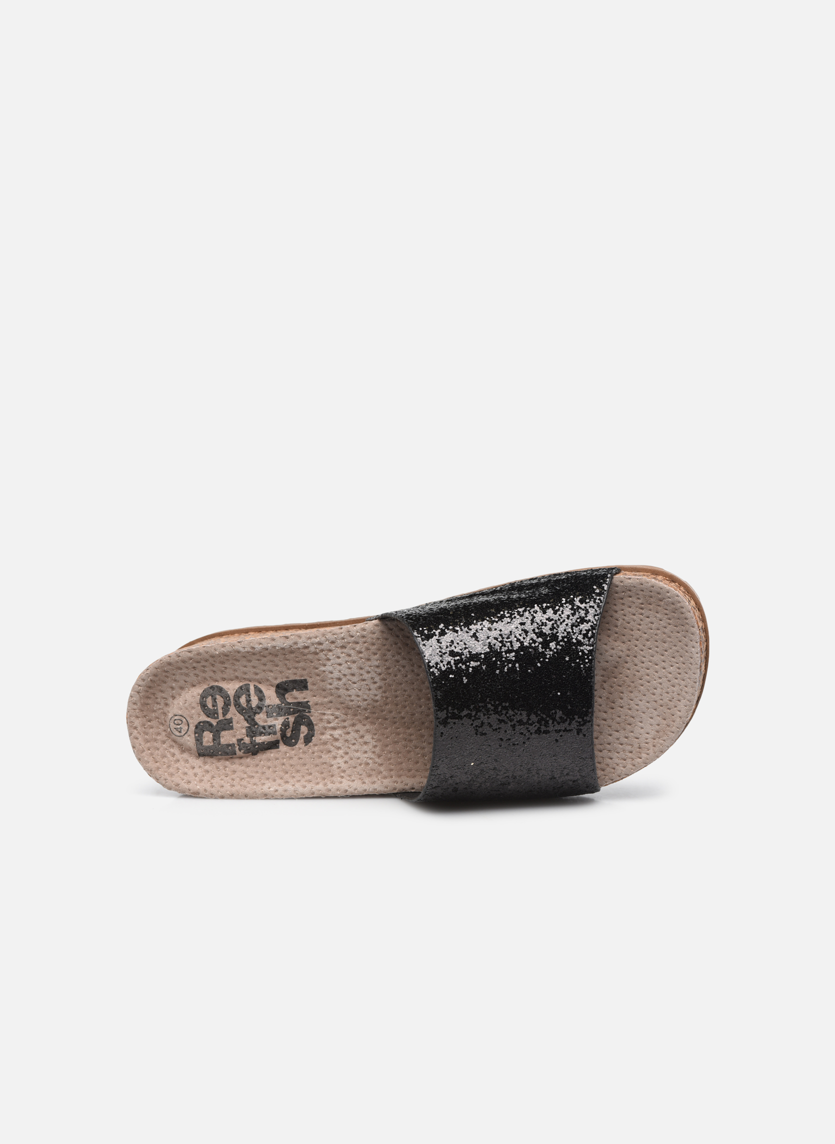 Mules & clogs Refresh Baille Black view from the left