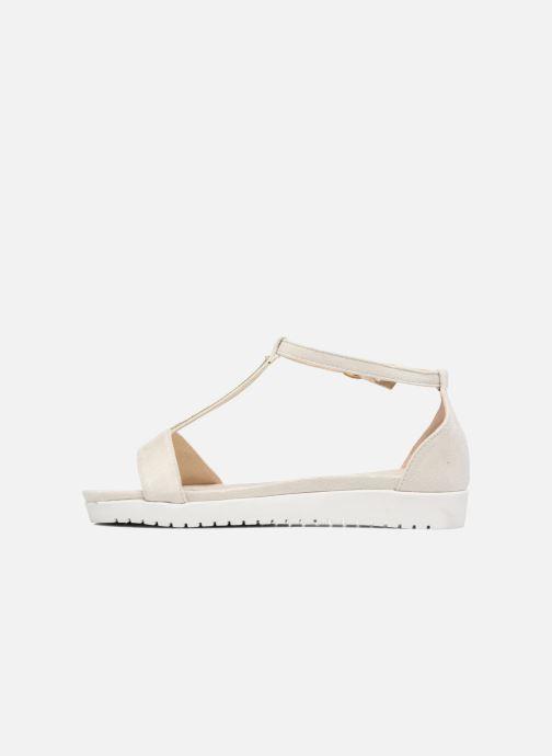 Sandales et nu-pieds Refresh Jovi Blanc vue face