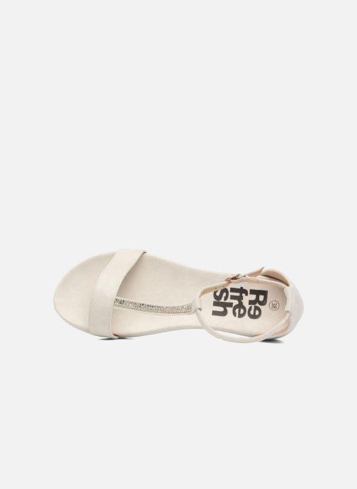 Sandales et nu-pieds Refresh Jovi Blanc vue gauche