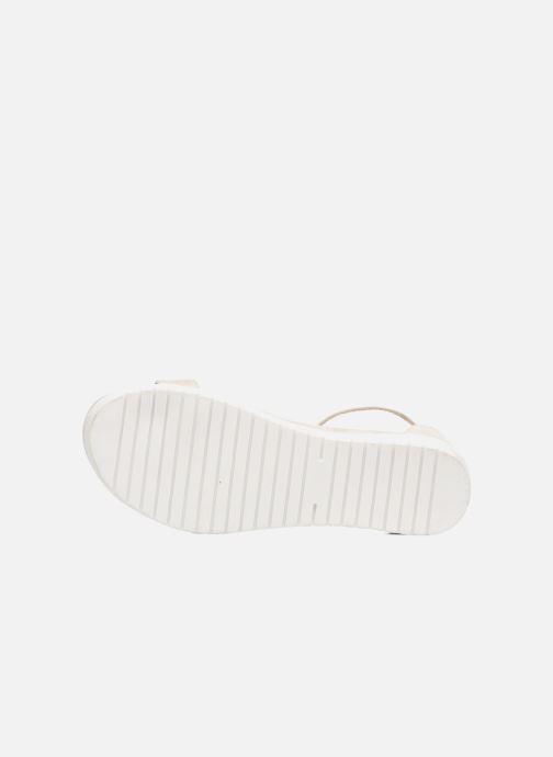 Sandales et nu-pieds Refresh Jovi Blanc vue haut