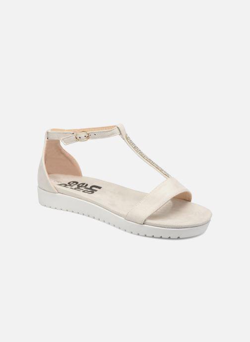 Sandales et nu-pieds Refresh Jovi Blanc vue détail/paire