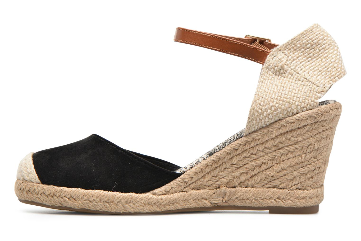 Espadrilles Refresh Malo Black front view