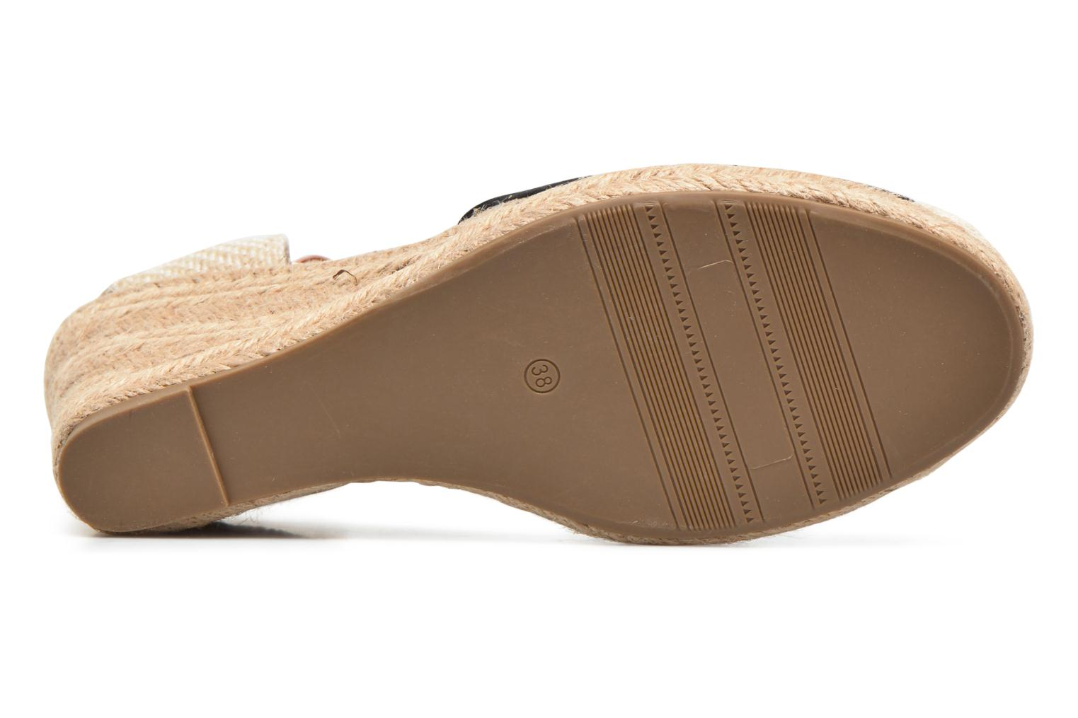 Espadrilles Refresh Malo Black view from above