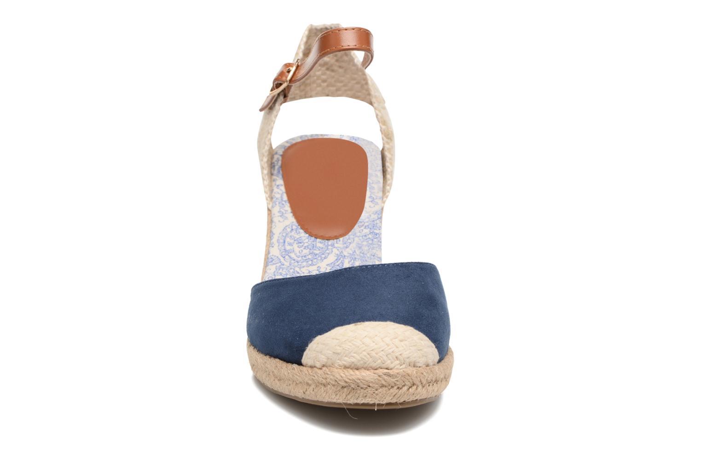 Espadrilles Refresh Malo Bleu vue portées chaussures