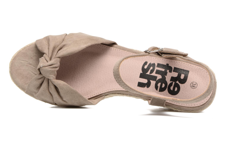 Sandali e scarpe aperte Refresh Wizin Marrone immagine sinistra