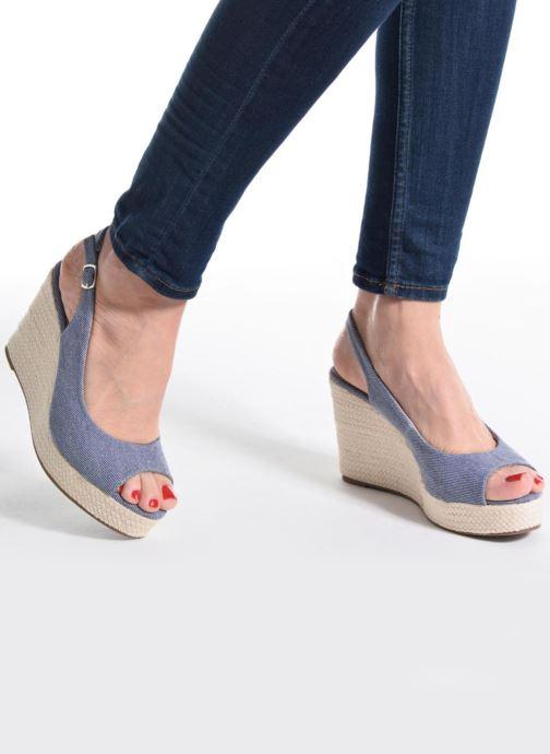 Sandales et nu-pieds Refresh Acma Bleu vue bas / vue portée sac