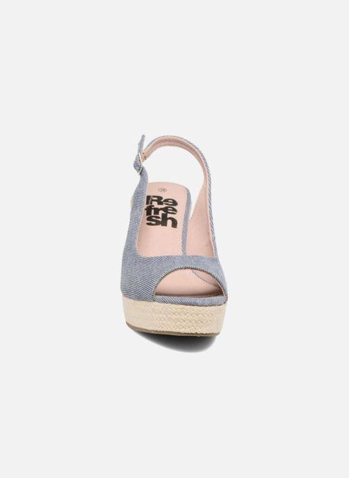 Sandales et nu-pieds Refresh Acma Bleu vue portées chaussures