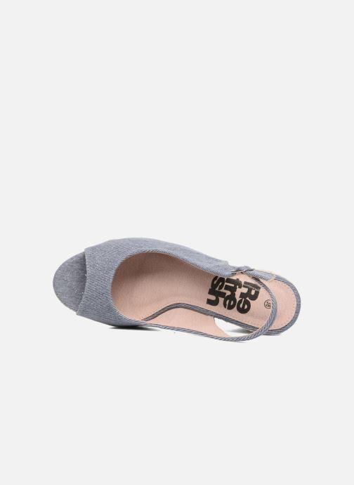 Sandales et nu-pieds Refresh Acma Bleu vue gauche