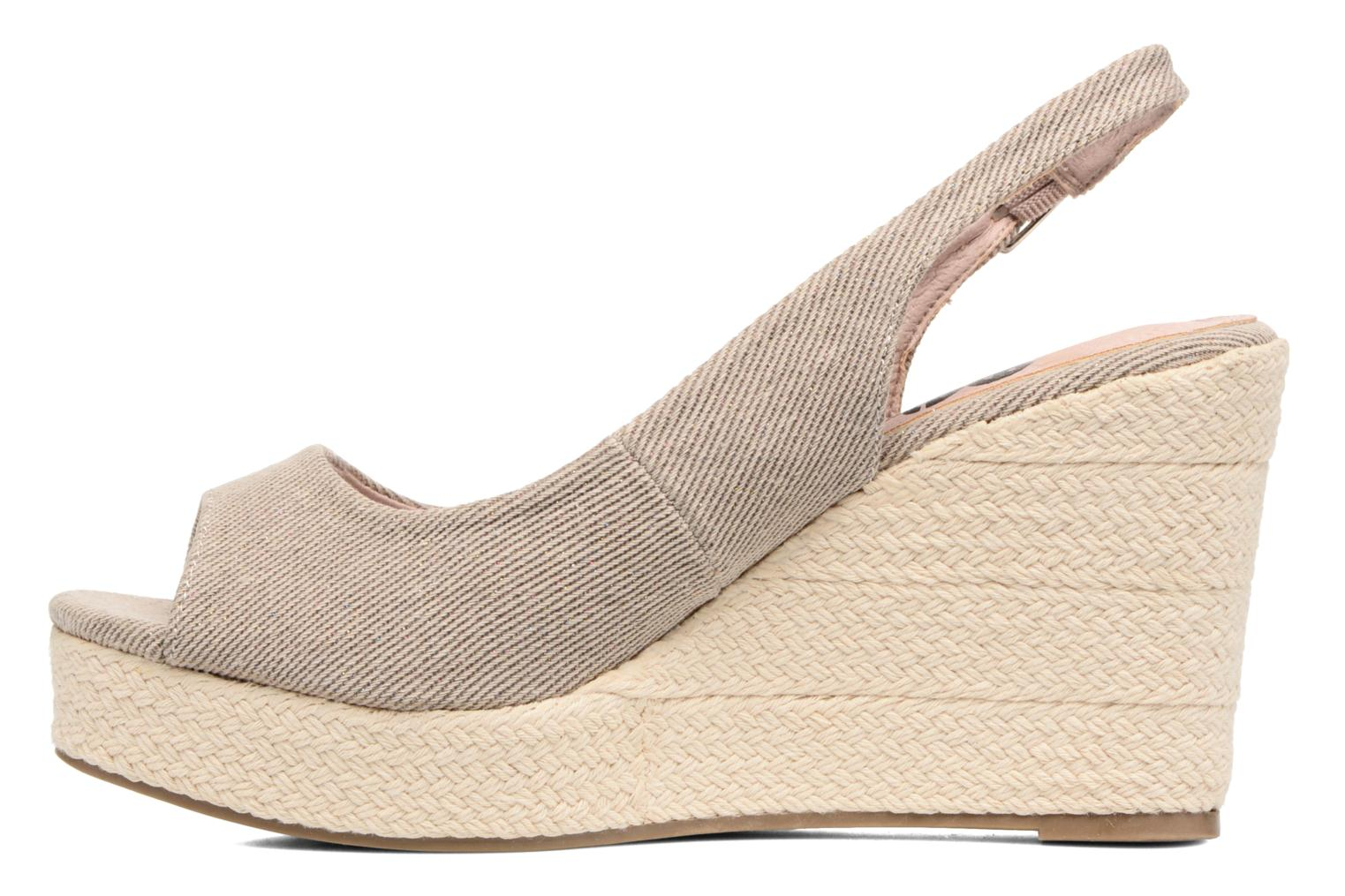 Sandals Refresh Acma Beige front view