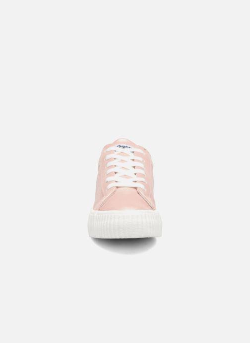 Baskets Refresh Opié Rose vue portées chaussures