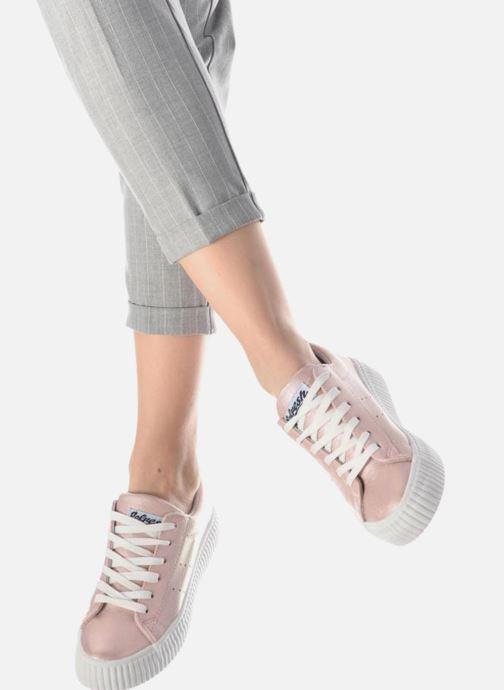 Sneaker Refresh Opié blau ansicht von unten / tasche getragen
