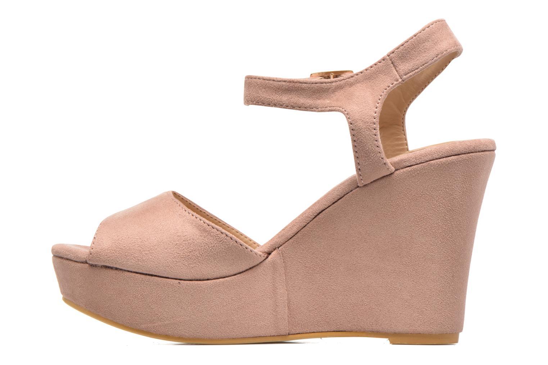 Sandales et nu-pieds Refresh Mack Rose vue face