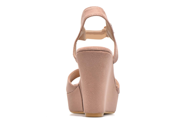 Sandales et nu-pieds Refresh Mack Rose vue droite