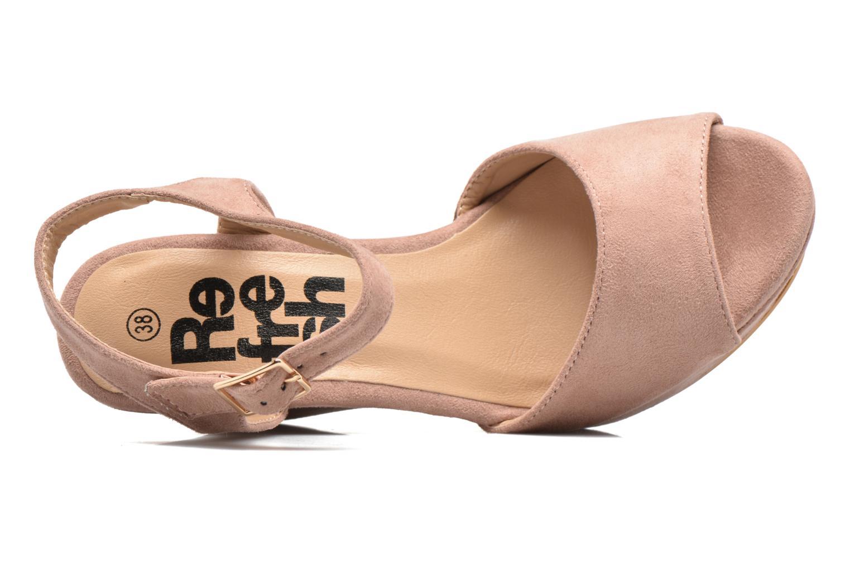 Sandales et nu-pieds Refresh Mack Rose vue gauche