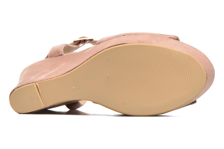Sandales et nu-pieds Refresh Mack Rose vue haut