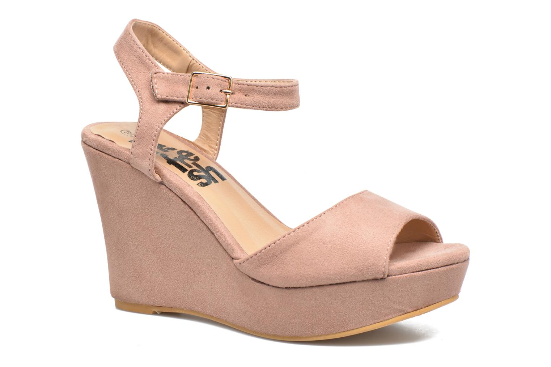 Sandales et nu-pieds Refresh Mack Rose vue détail/paire