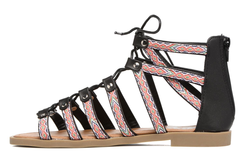 Sandals Refresh Ilna Black front view