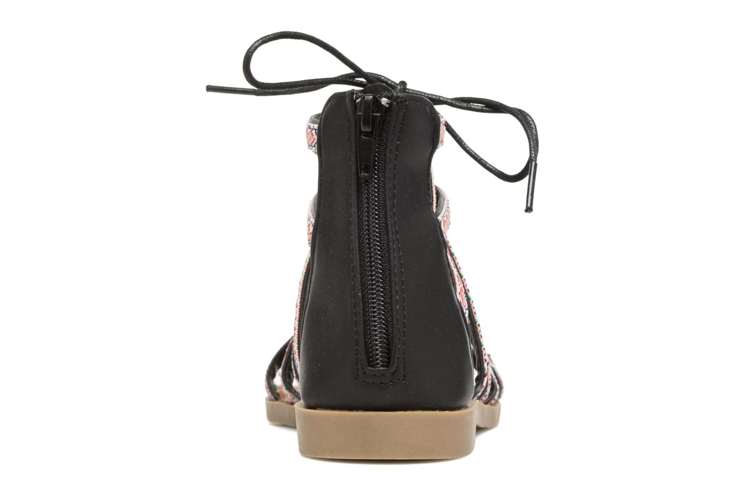 Sandals Refresh Ilna Black view from the right