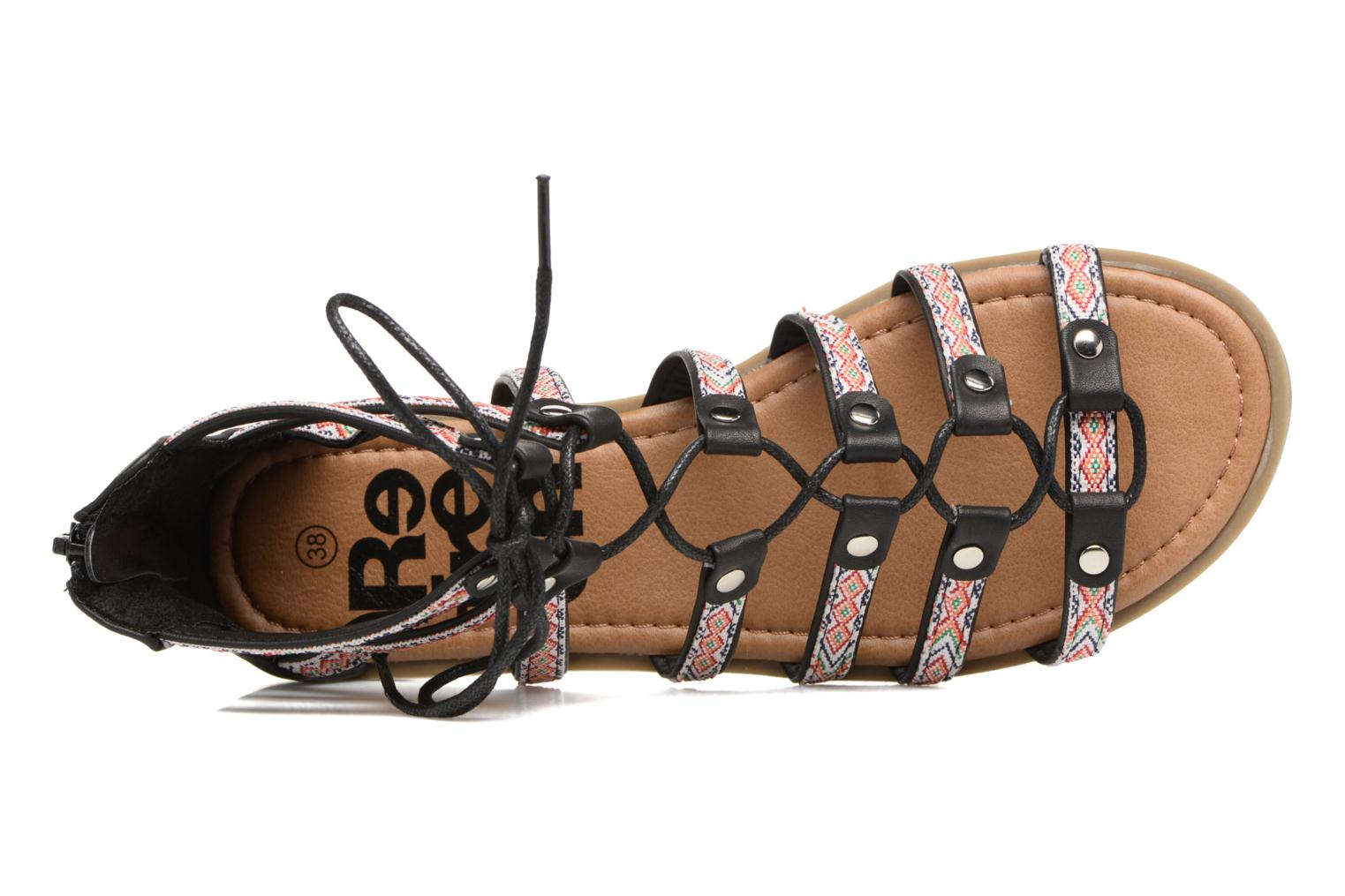 Sandals Refresh Ilna Black view from the left