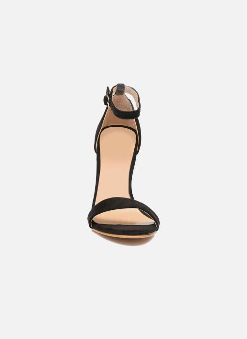 Sandales et nu-pieds Refresh Dedram Noir vue portées chaussures