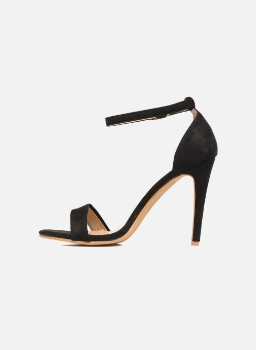 Sandales et nu-pieds Refresh Dedram Noir vue face