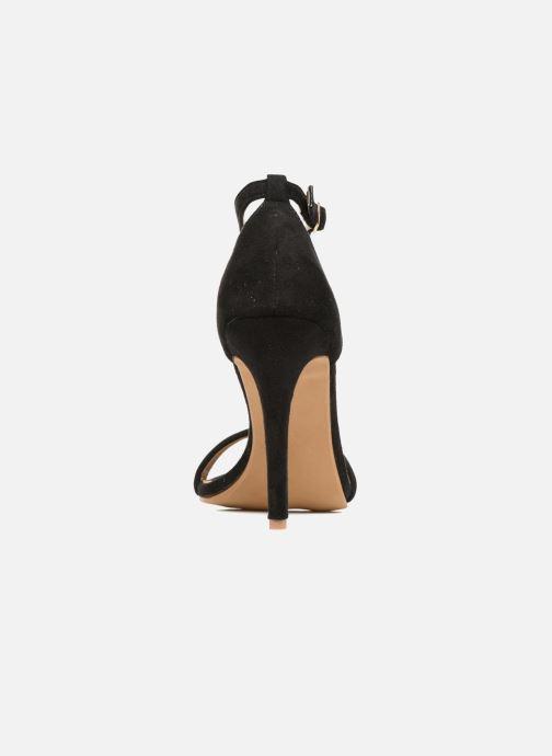 Sandales et nu-pieds Refresh Dedram Noir vue droite