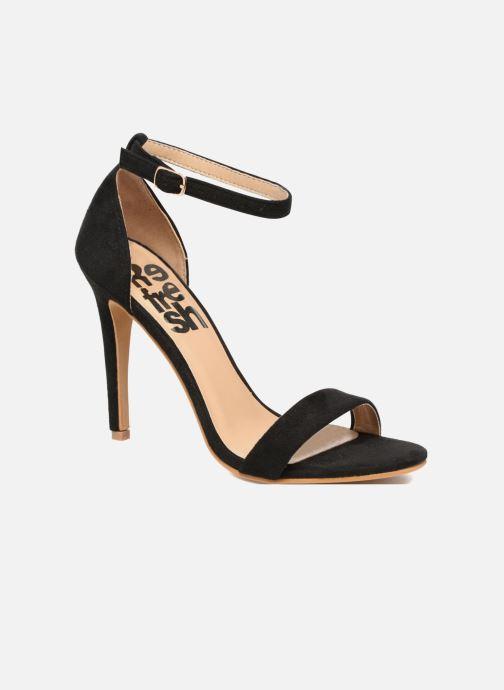 Sandales et nu-pieds Refresh Dedram Noir vue détail/paire