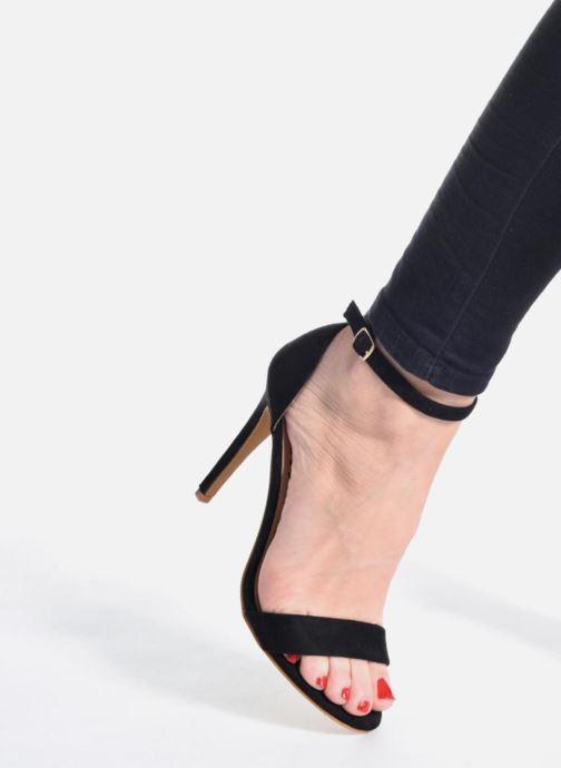 Sandales et nu-pieds Refresh Dedram Beige vue bas / vue portée sac
