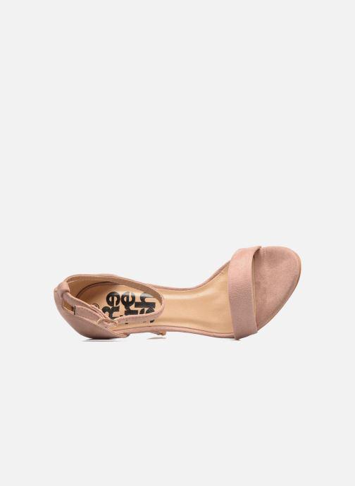 Sandales et nu-pieds Refresh Dedram Beige vue gauche