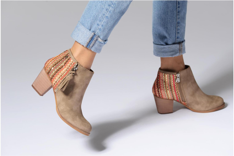 Stiefeletten & Boots Refresh Sirdy braun ansicht von unten / tasche getragen