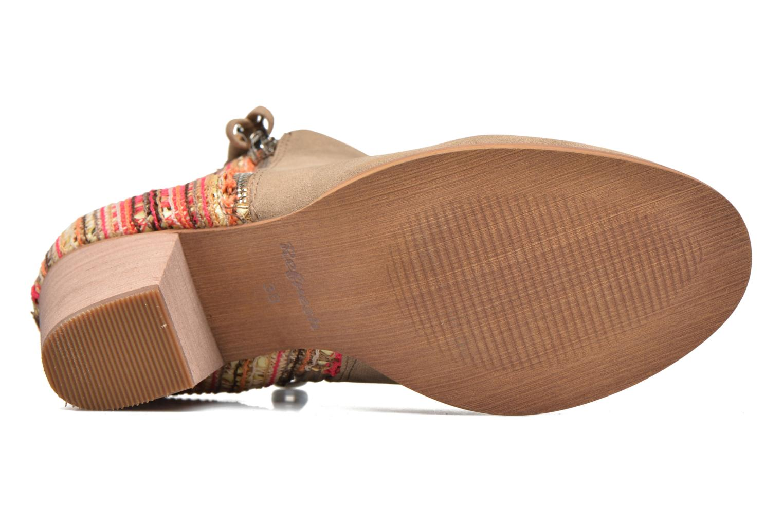 Stiefeletten & Boots Refresh Sirdy braun ansicht von oben